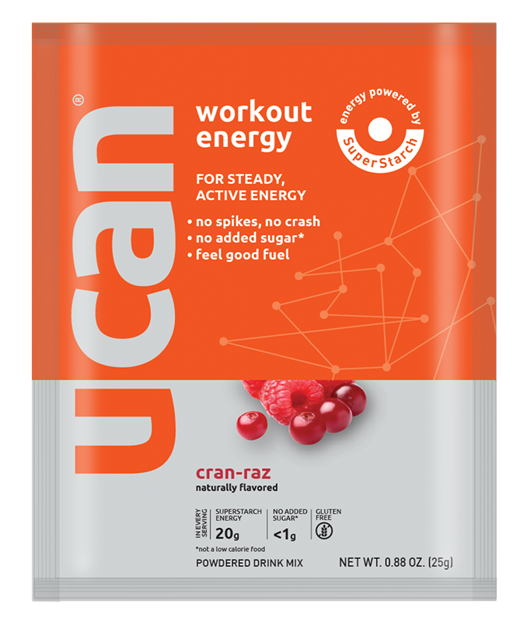 Picture of UCan Drink Mix Cranberry/Rasberry Sachet