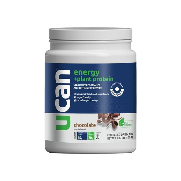 Picture of UCan Protein Enhanced Chocolate Pea Protein Tub