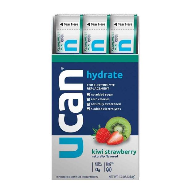 Picture of UCan Hydrate Kiwi Strawberry Sachets